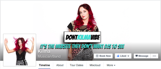 Dj Kilma on Facebook