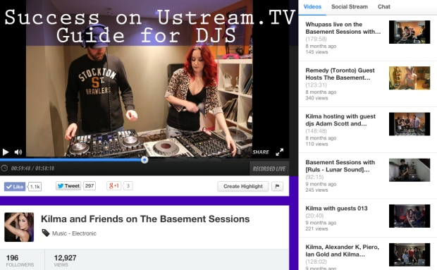 how to have a successful ustream.tv channel