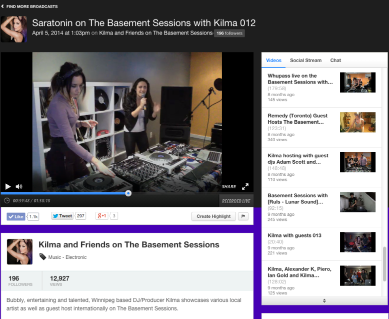 Kilma The Basement Sessions
