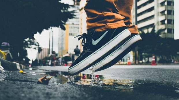 skill street feet man alone