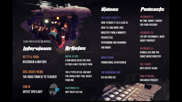 DJ Kilma 2017 Electronic Music Press-kit